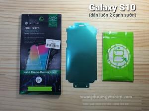 Dán màn hình Galaxy S10. - BESTSUIT (dẻo trong, full)